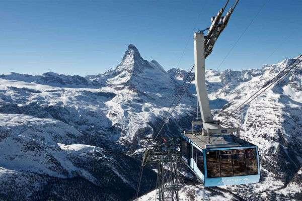 Matterhorn webcam views at Zermatt
