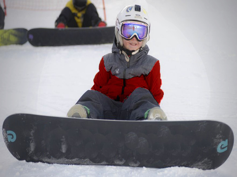Children Snowboard Lessons